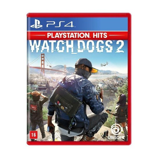 Jogo Watch Dogs 2 - PS4 - Incolor