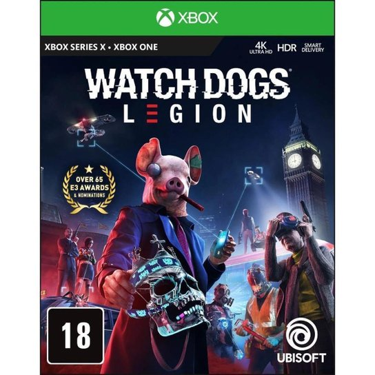 Jogo Watch Dogs Legion  Gold Edition BR  Xbox One - Incolor
