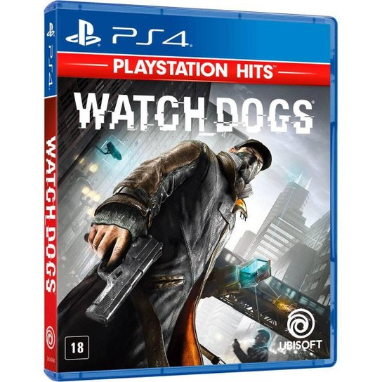 Jogo Watch Dogs - PS4 - Incolor