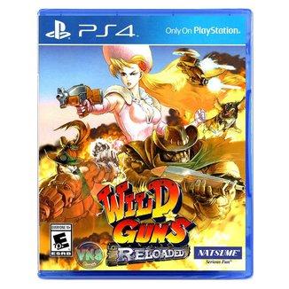 Jogo Wild Guns Reloaded  PS4