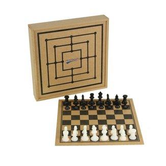 Jogo Xadrez Pentagol com estojo