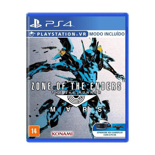 Jogo Zone of the Enders: The 2nd Runner - Mars - PS4 - Incolor