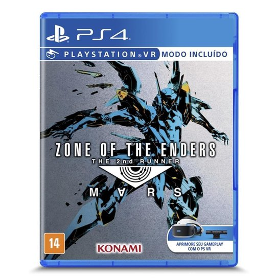 Jogos Zone Of The Enders: The 2Nd Runner Mars Vs Ps4 - P4sa00730001fgm - Incolor