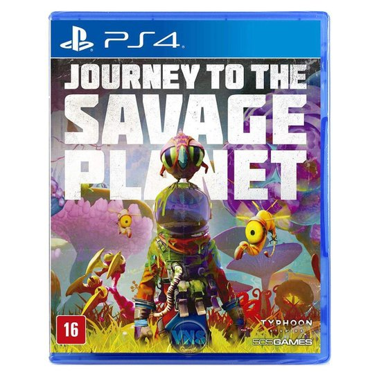 Journey To The Savage Planet - Ps4 - Incolor