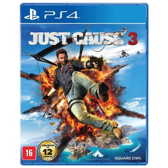 Just Cause 3 - Ps4 - Incolor