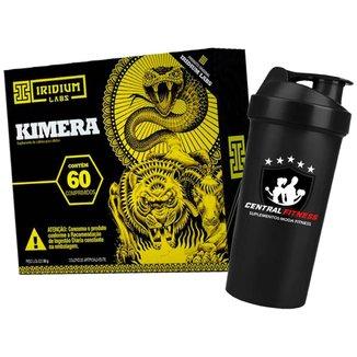 Kimera - Termogenico - 60 Cápsulas + Coqueteleira - Iridium Labs