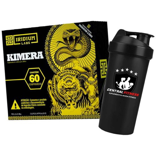 Kimera - Termogenico - 60 Cápsulas + Coqueteleira - Iridium Labs -