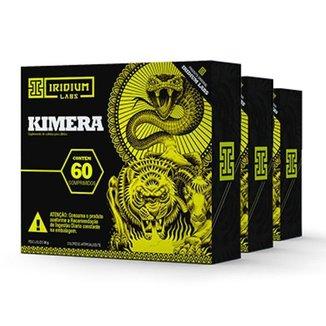 Kimera Thermo - 60 Comps - Kit 3 caixas - Termogênico  Iridium Labs