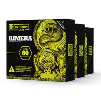 Kimera Thermo - 60 Comps - Kit 3 caixas - Termogênico  Iridium Labs