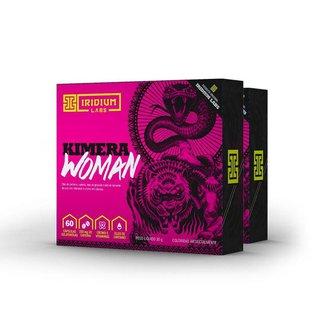 Kimera Woman - 60 Comps - Kit 2 caixas - Termogênico Feminino  Iridium Labs