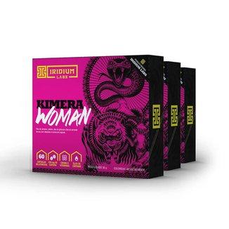 Kimera Woman - 60 Comps - Kit 3 caixas - Termogênico Feminino Iridium Labs