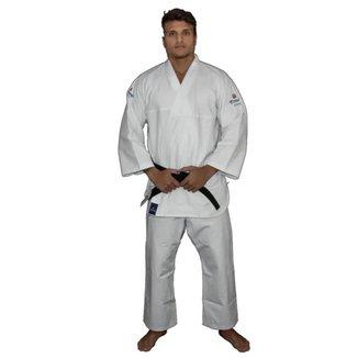 Kimono Aikidô Reforçado Branco Torah - Adulto A5