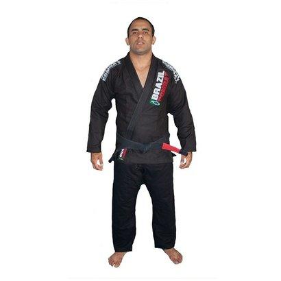 Kimono De Jiu-Jitsu Brazil Combat Xtra-Lite Adulto - Unissex