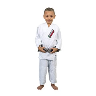Kimono Jiu Jitsu Brazil Combat Infantil Reforçado