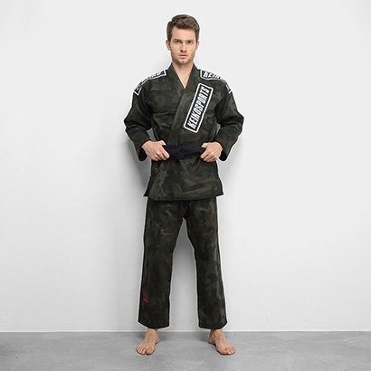 Kimono Jiu Jitsu Keiko Camuflado - Unissex