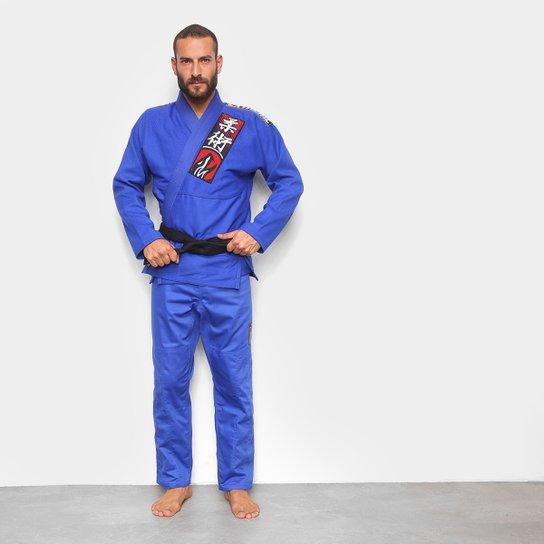 Kimono Jiu Jitsu Naja Choke - Azul