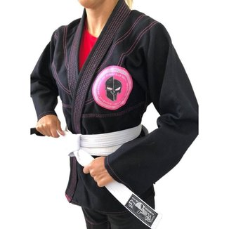Kimono JiuJitsu Bjj BadSkull Naja Feminino