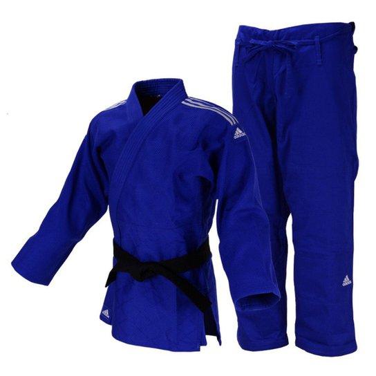 Encantador Molester Fracción  Kimono Judô Adidas Quest J690 - Azul e Branco | Netshoes