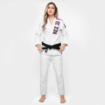 Kimono KVRA Jiu-Jitsu BJJ Style - Feminino