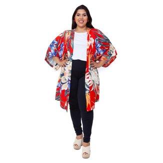 Kimono  Plus Size Bruna Feminino