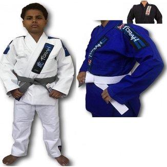 Kimono Trançado Plus Jiu Jitsu Torah - Infantil