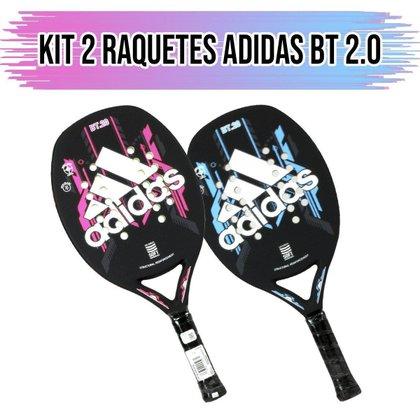 Kit 02 Raquetes de Beach Tennis 2.0 - Adidas