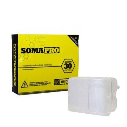Kit 1 SomaPro 30 cápsulas – Iridium Labs + porta cápsula