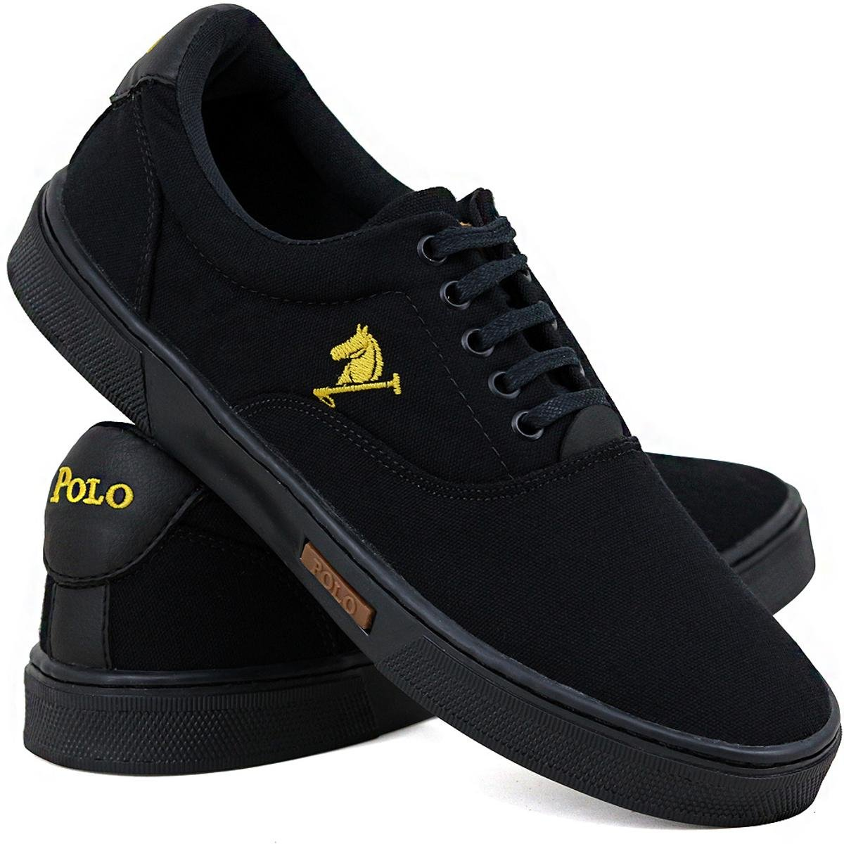 1 e 1 Tênis Joy Preto Polo E Chinelo Kit Chumbo Casual aCwzdqq