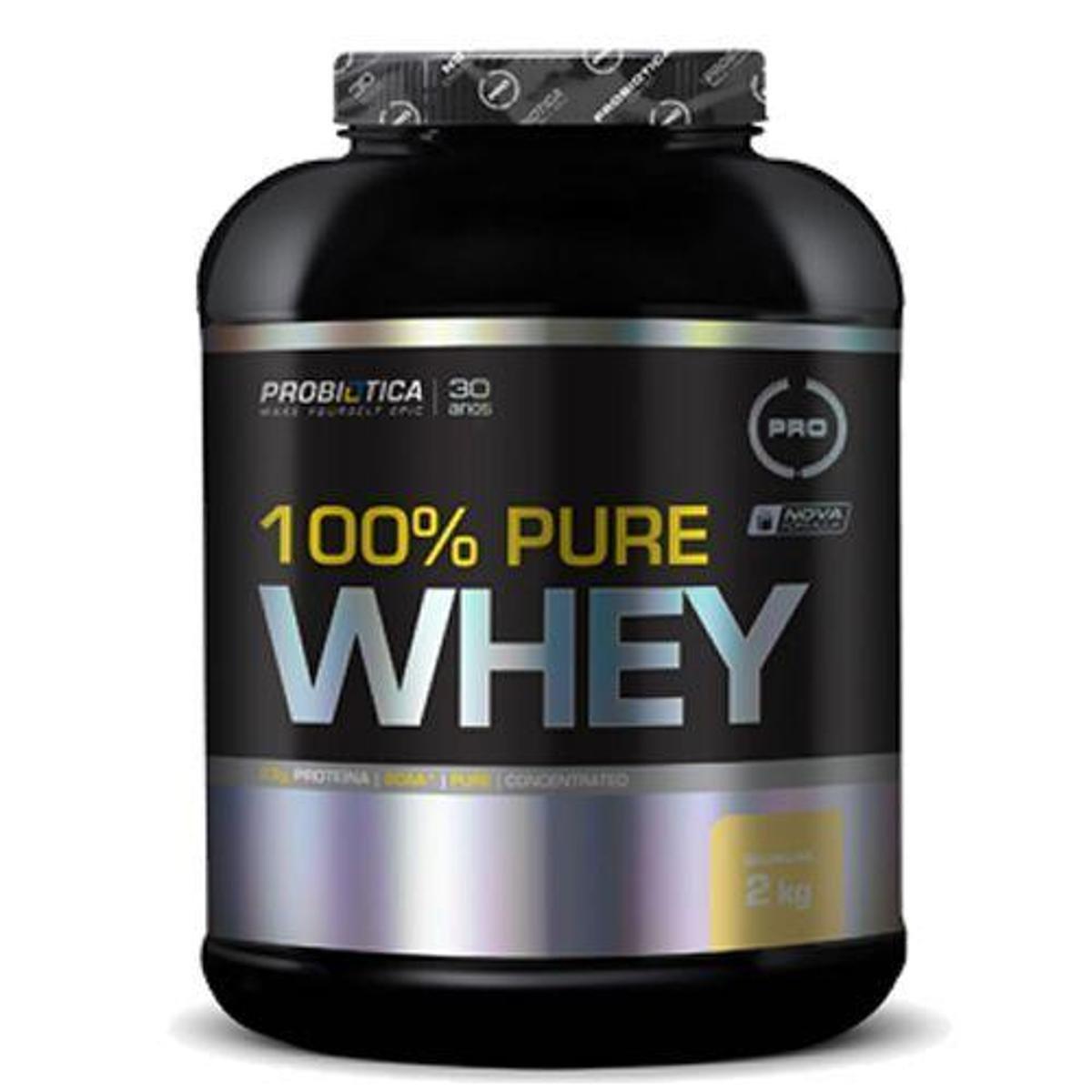 Kit 10X 100% Pure Whey - 2000g - Probiotica
