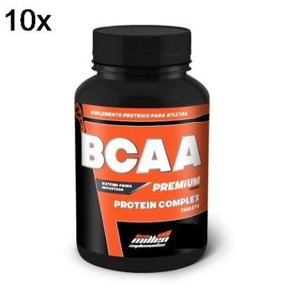 Kit 10X Bcaa Premium New Millen – 120 Tabletes