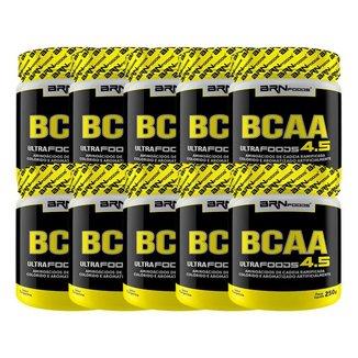 kit 10x BCAA Ultra foods 250g - BRNFOODS