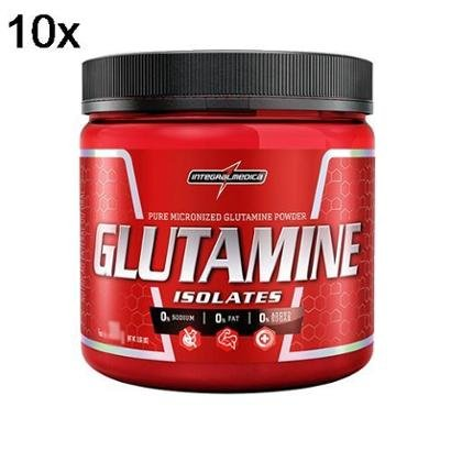Kit 10X Glutamine Isolates IntegralMédica – 150g