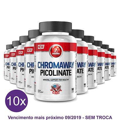 Kit 10x Picolinato de Chromo Midway 90 Tabs