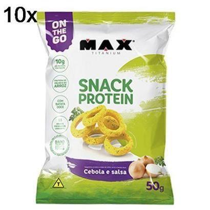 Kit 10X Snack Protein Max Titanium – 50g