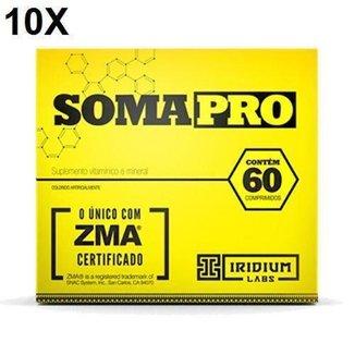 Kit 10X Somapro - 60 Cápsulas - Iridium