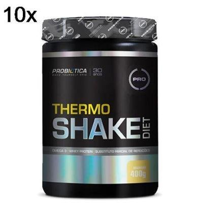 Kit 10X Thermo Shake Diet Probiótica – 400g