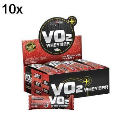 Kit 10X Vo2 Protein Bar IntegralMédica – 24 Unids 30g