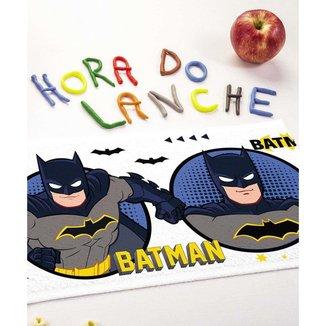 Kit 12 Toalhas De Lancheira Estampa Batman Lepper - 10044162467