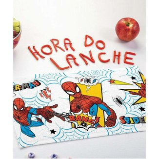 Kit 12 Toalhas De Lancheira Estampa Homem Aranha Lepper - 10044168544