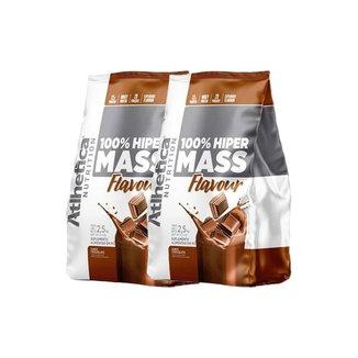 Kit 2 100% Hiper Mass Flavour 2,5Hg - Atlhetica Nutrition