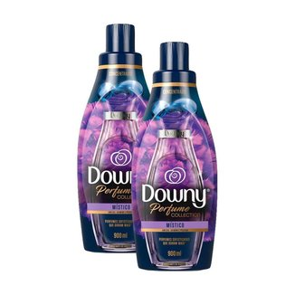 Kit 2 Amaciante Downy Concentrado Perfume Colletion Místico 900ml