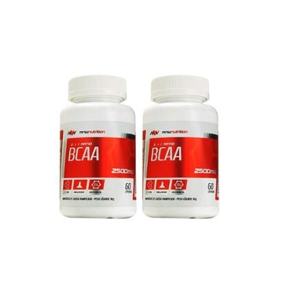 Kit 2 BCAA 2500mg 60 cápsulas – MNW Nutrition