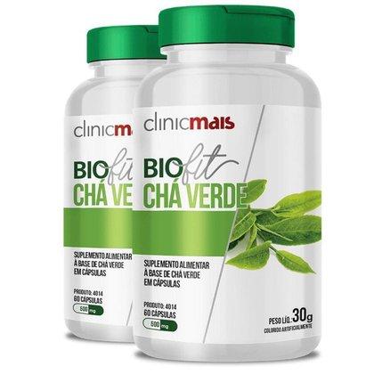 Kit 2 Biofit Chá Verde 60 cápsulas da Clinicmais