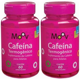 Kit 2 Cafeína Termogênico P/ Queimar Gordura E Emagrecer 60 comprimidos