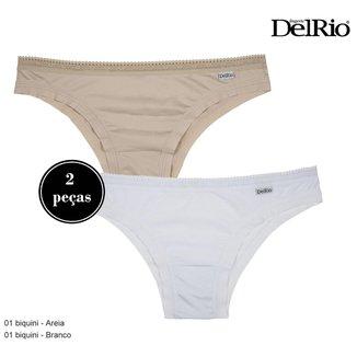 Kit 2 Calcinhas DelRio Duo Fresh Baby Feminina