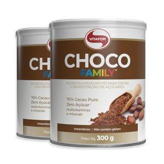 Kit 2 Choco Family Vitafor 300g