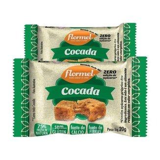 Kit 2 Cocada 20g Flormel