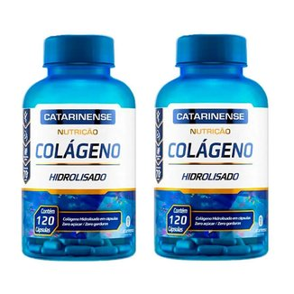 Kit 2 Colágeno Hidrolisado - 120 Cápsulas - Catarinense