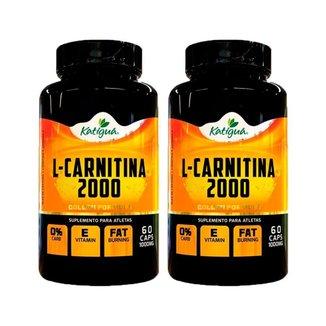 Kit 2 L-Carnitina 2000 - 60 Cápsulas - Katiguá