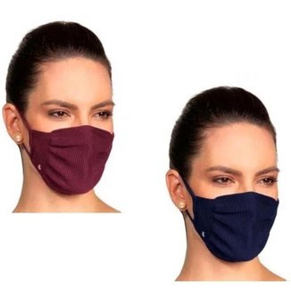 Kit 2 Mascara Lupo Fit Virus Bac Off Preto